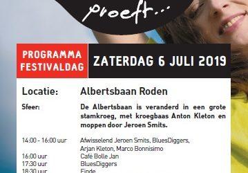 Programma Festival Roden Proeft